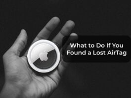 What to Do If You Found a Lost AirTag