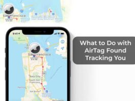 What to Do with AirTag Found Tracking You