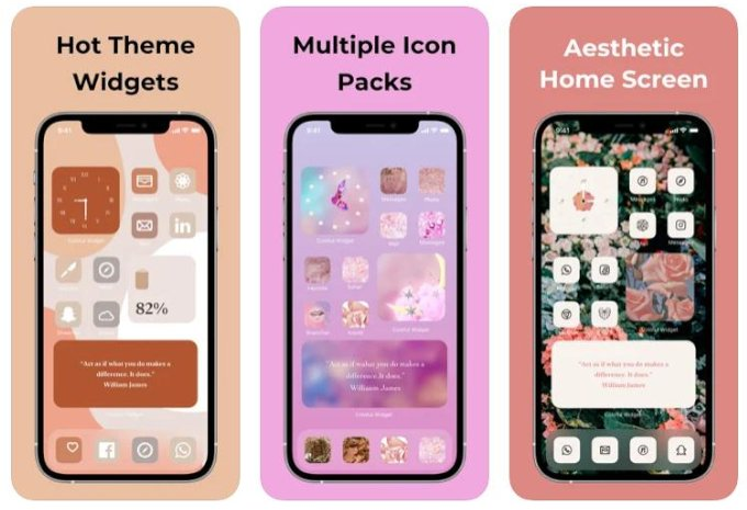 Widget box-color home theme
