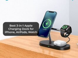 Best 3-in-1 Apple Charging Dock for iPhone, AirPods, Watch