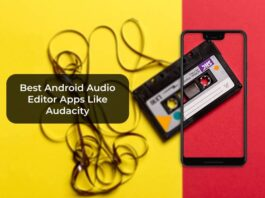 Best Android Audio Editor Apps Like Audacity