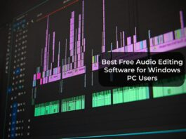 Best Free Audio Editing Software for Windows PC Users