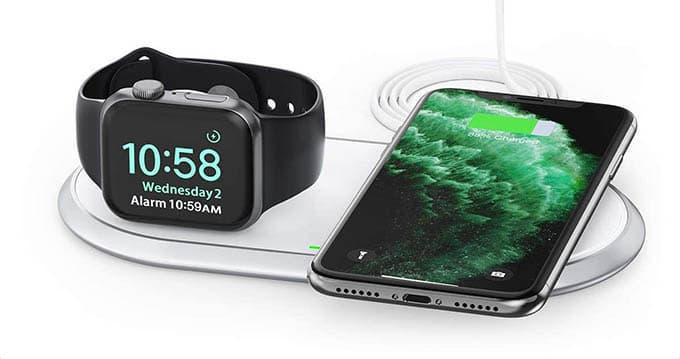 Choetech 2 in 1 Wireless Charger