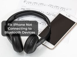 Fix iPhone Not Connecting to Bluetooth Devices