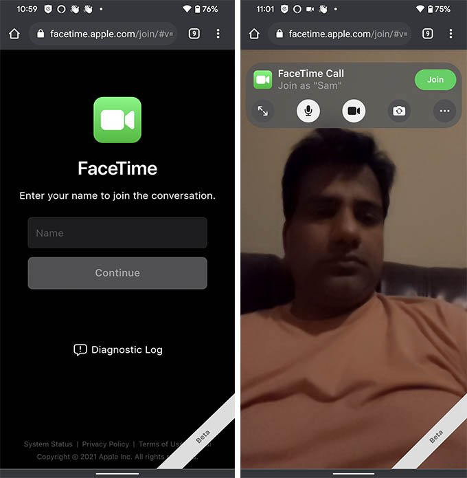 Get FaceTime on Android Phone