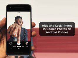 Hide and Lock Photos in Google Photos on Android Phones