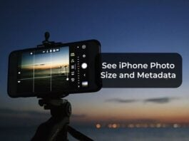 How to See Photo Size and Other Photo Metadata on iPhone Photos App