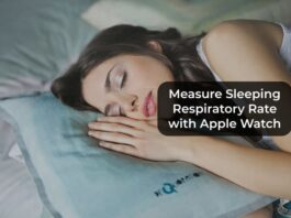 Measure Sleeping Respiratory Rate with Apple Watch