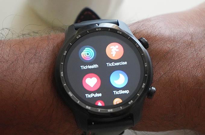 Mobvoi TicWatch Pro 3 GPS Health Apps