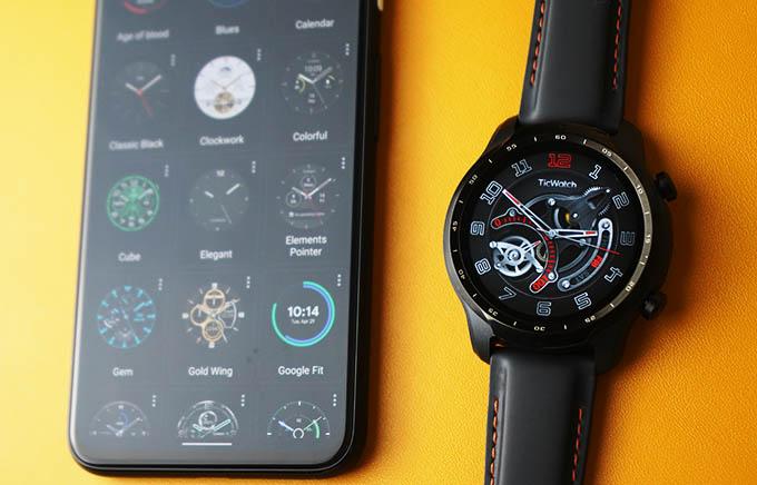 Mobvoi TicWatch Pro 3 GPS Watchfaces