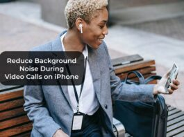 Reduce Background Noise During Video Calls on iPhone