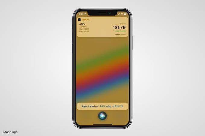 Search With Siri on iPhone Lock Screen