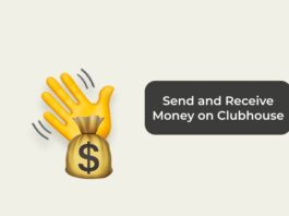 Send and Receive Money on Clubhouse