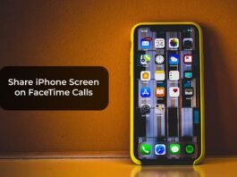 Share iPhone Screen on FaceTime Calls