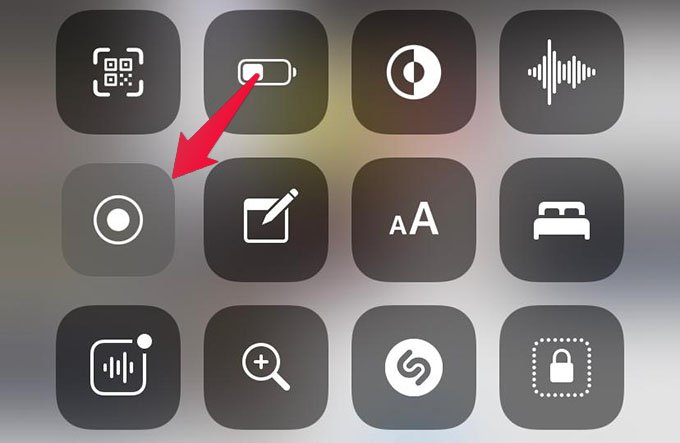 Start Screen Record on iPhone to Record Clubhouse Audio