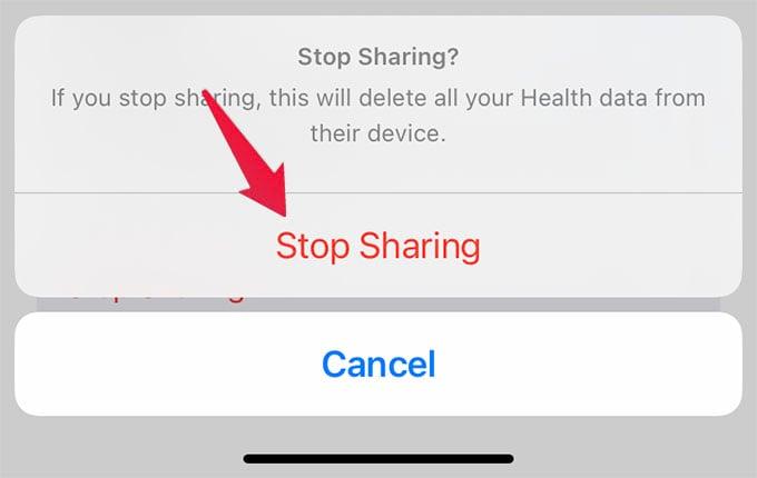 Stop Sharing Apple Health Data