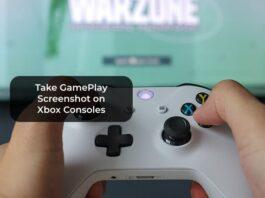 Take GamePlay Screenshot on Xbox Consoles