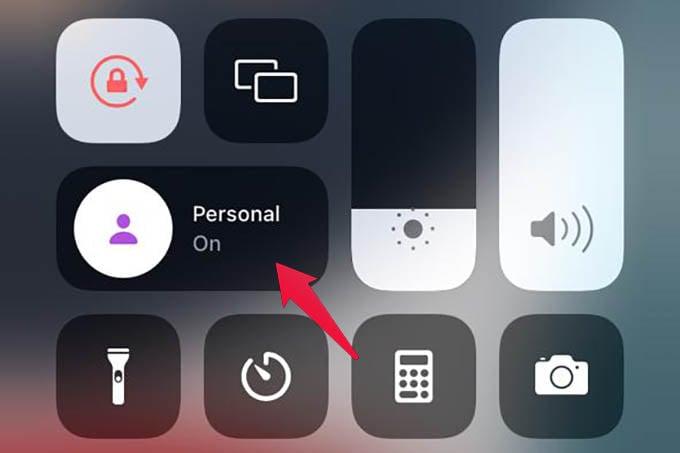 Turn Off Focus Mode iPhone