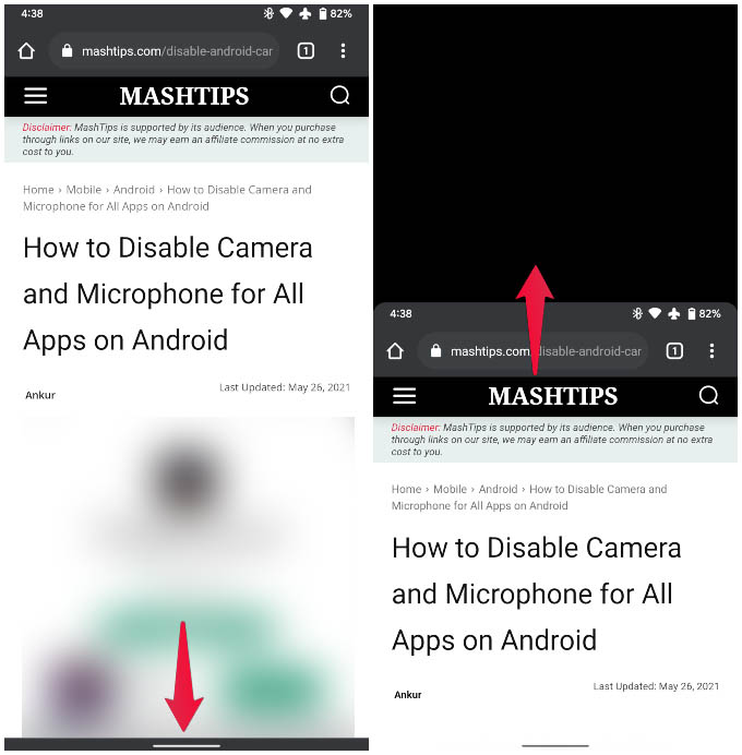 Use Android One Handed Mode on Android 12