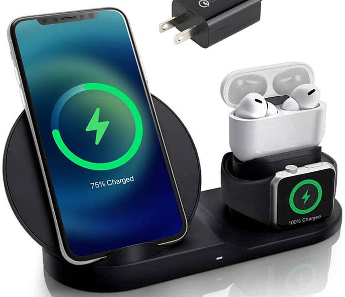 Wimo 3 in 1 Wireless Charging Station