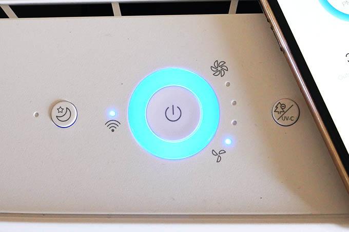 Zigma Air Purifier Control Buttons