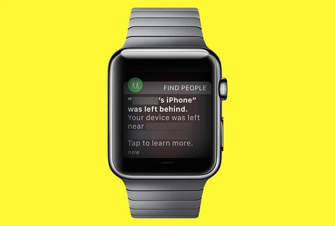 iPhone Separation Alert on Apple Watch