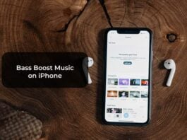 Bass Boost Music on iPhone