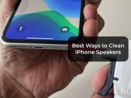 Best Ways to Clean iPhone Speakers