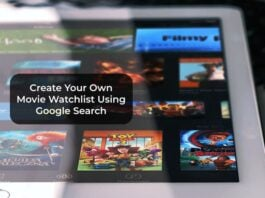 Create Your Own Movie Watchlist Using Google Search
