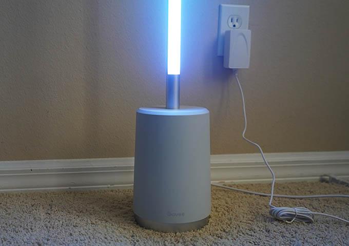 Govee Lyra Smart Corner Floor Lamp Base Design