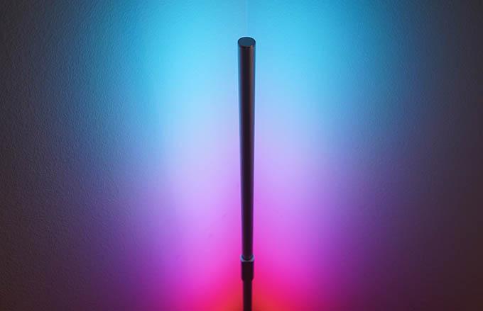 Govee Lyra Smart Corner Floor Lamp Light Sample