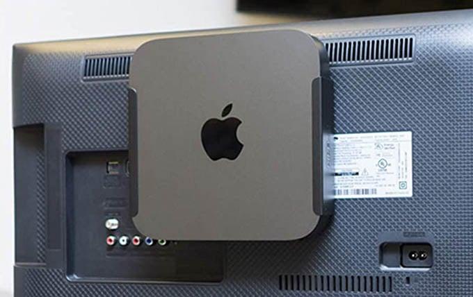 Mac Mini Mount for Monitor, Wall, Under Desk