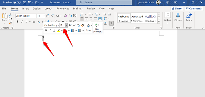 microsoft word 365 deleting blank page at the end