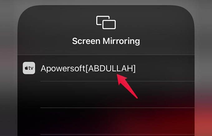 Mirror iPhone Screen to Windows
