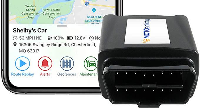 MotoSafety Vehicle GPS Tracker