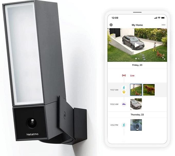 Netatmo Outdoor Security Camera