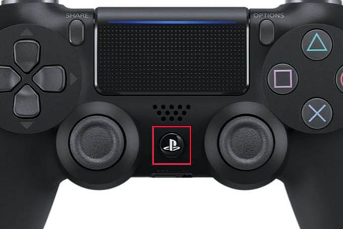 PS4 Home Button