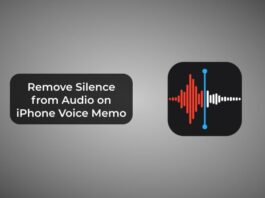 Remove Silence from Audio on iPhone Voice Memo