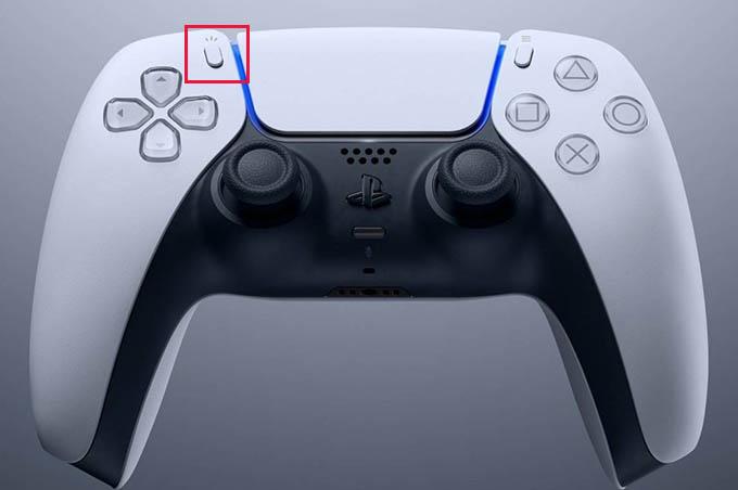 Take Screenshot on PS5 Controller