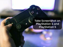 Take Screenshot on PlayStation 4 and PlayStation 5