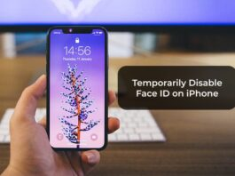 Temporarily Disable Face ID on iPhone