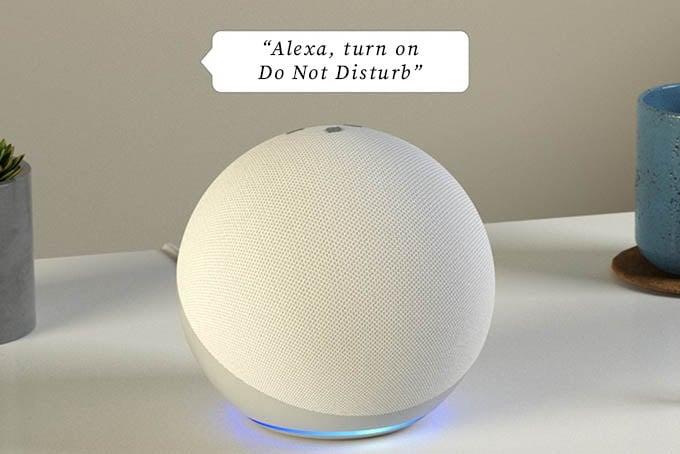 Turn on Alexa DND Using Voice Command