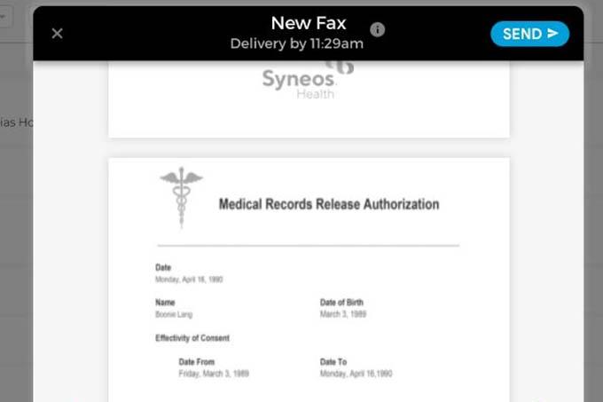 iFax HIPAA Compliance