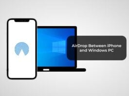 AirDrop Between iPhone and Windows PC