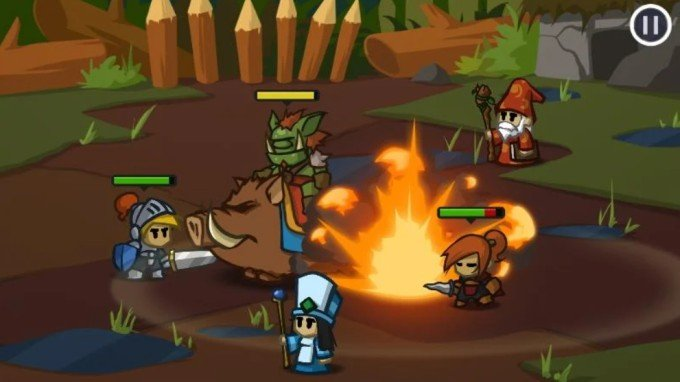 battleheart free android game with no ads or IAP