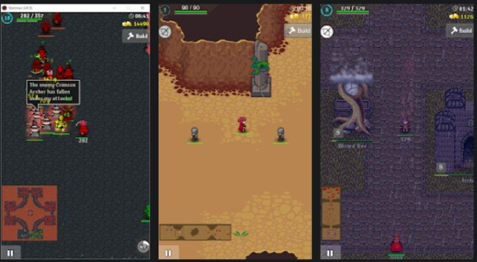 starrows gameplay on android