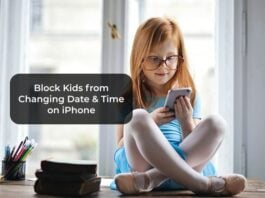 Block Kids from Changing Date & Time on iPhone
