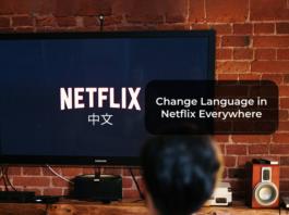 Change Language in Netflix Everywhere