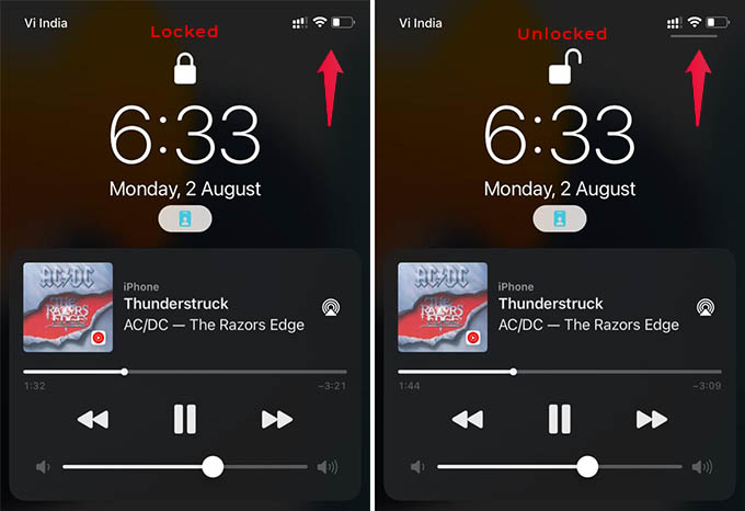 Control Center Not Showing in iPhone Lock Screen