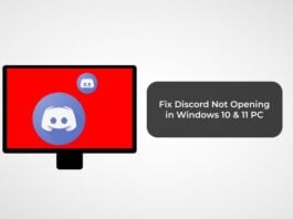 Fix Discord Not Opening in Windows 10 & 11 PC